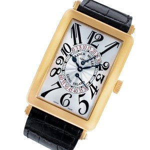 Franck Muller Long Island 545 18k rose gold 33mm auto watch