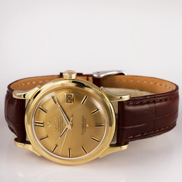 Omega Constellation 18k 35mm auto watch