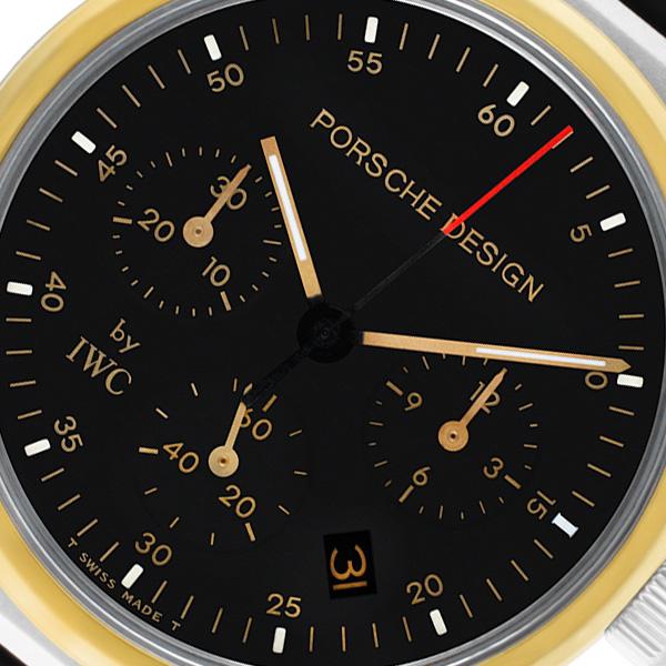IWC Porsche Design Chronograph 3720 stainless steel 32mm Quartz watch
