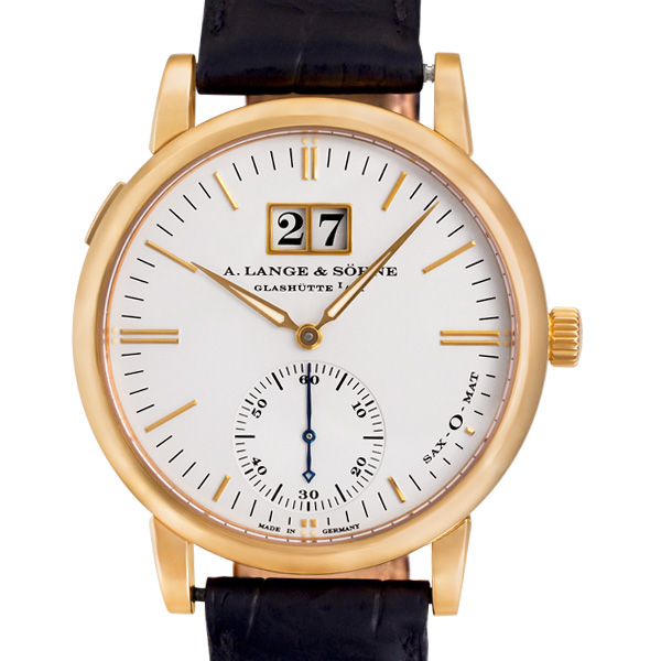 A. Lange & Sohne Langematik 15338 18k rose gold 37mm auto watch
