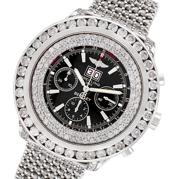 Breitling Bentley A44362 stainless steel 50mm auto watch