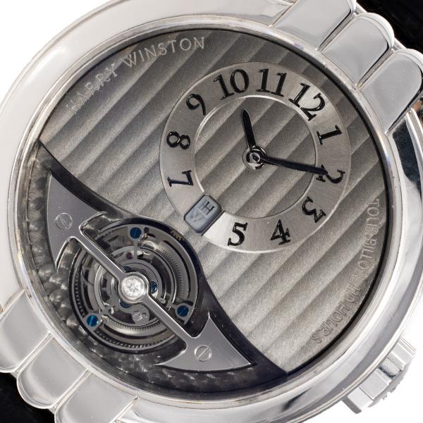 Harry Winston Excenter Tourbillion MMT40PL.T platinum 40mm Manual watch
