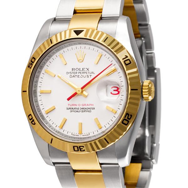 Rolex Datejust 116263 18k & steel 36mm auto watch