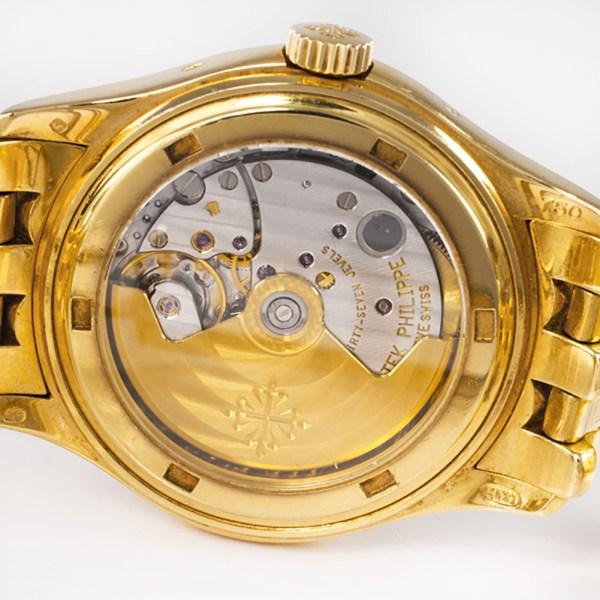Patek Philippe Annual Calendar 5036J 18k Yellow Gold Moonphase Power Reserve