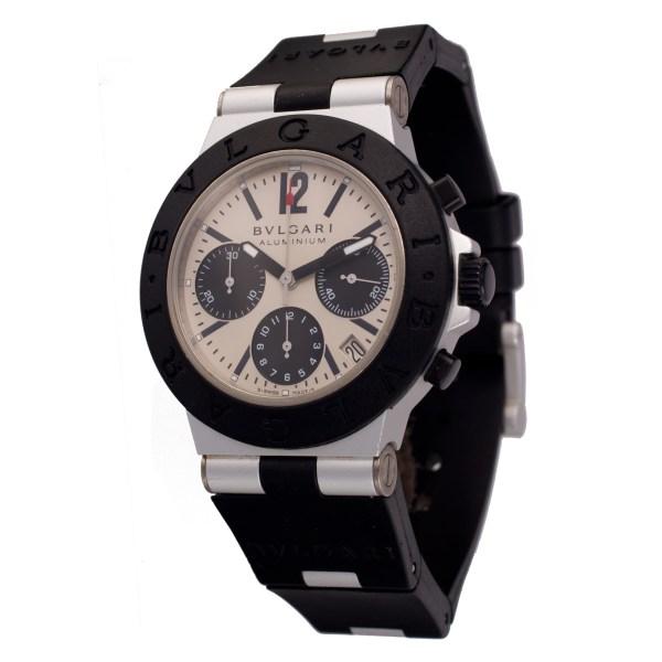 Bvlgari Diagono ac 38 ta aluminum 38mm auto watch