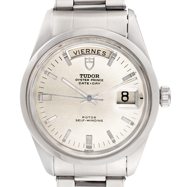 Tudor Day-Date 7017/0 stainless steel 37mm auto watch