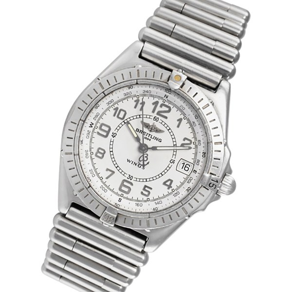 Breitling Wings A66050 stainless steel 36mm Quartz watch