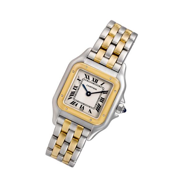 Cartier Panthere 18k & steel mm Quartz watch
