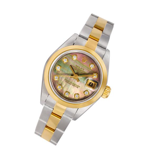 Rolex Datejust 69163 18k & steel 26mm auto watch