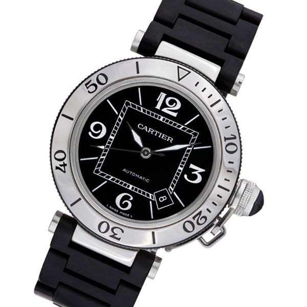 Cartier Seatimer W31077U2 stainless steel 40mm auto watch
