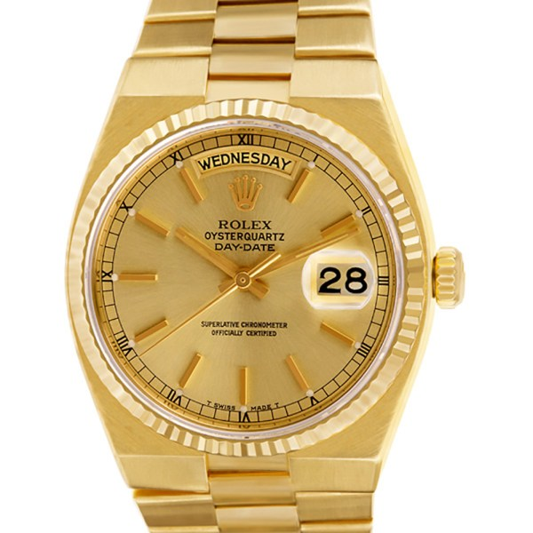 Rolex Oysterquartz Day Date 19018 18k 36mm Quartz watch