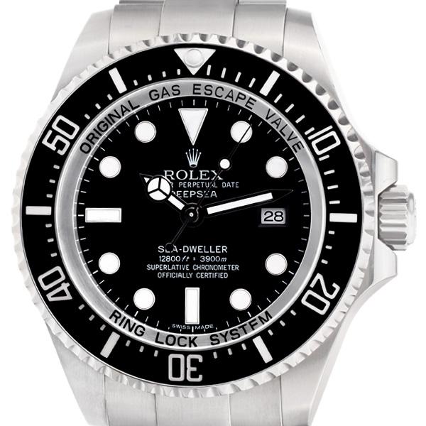 Rolex Deep Sea 116660 stainless steel 44mm auto watch