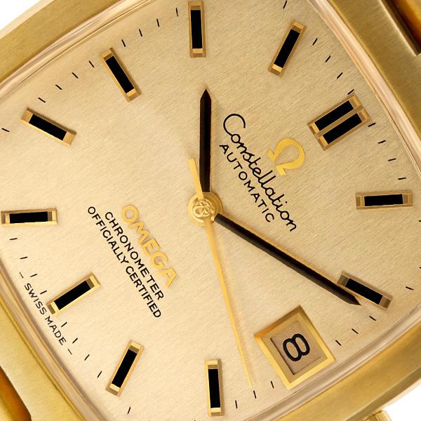 Omega Constellation 18k 33mm auto watch