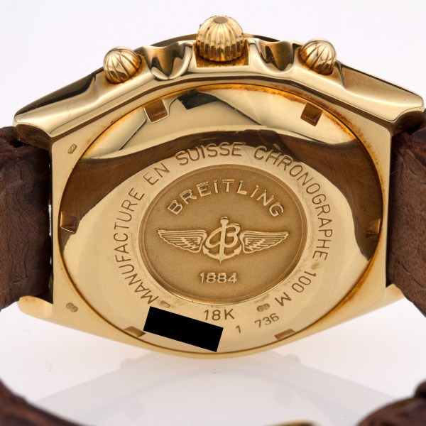 Breitling Chronomat K13048 18k 36mm auto watch