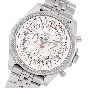 Breitling Bentley A25362 stainless steel 49mm auto watch
