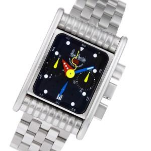 Alain Silberstein Bolido Krono BK 84 stainless steel 32mm auto watch