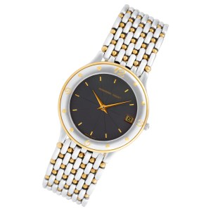Audemars Piguet Classic C-35365 18k & steel 33.5mm Quartz watch