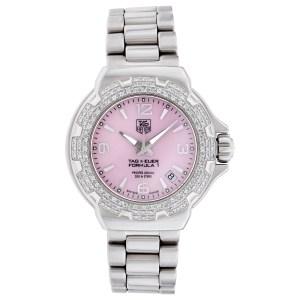 Tag Heuer Formula 1 wac1216 stainless steel 35mm Quartz watch