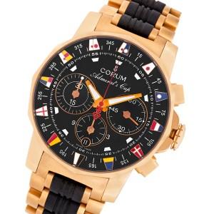Corum Admirals Cup 985.671.55 18k pink gold 44mm auto watch