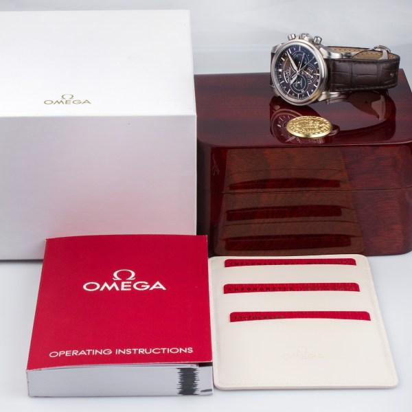 Omega De Ville 4221.34.45 stainless steel 44mm auto watch