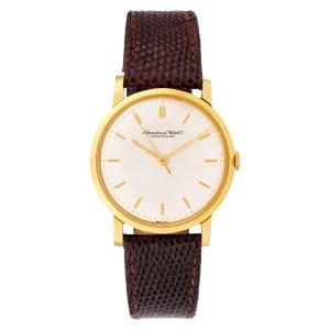 IWC Classic 18k 33mm Manual watch