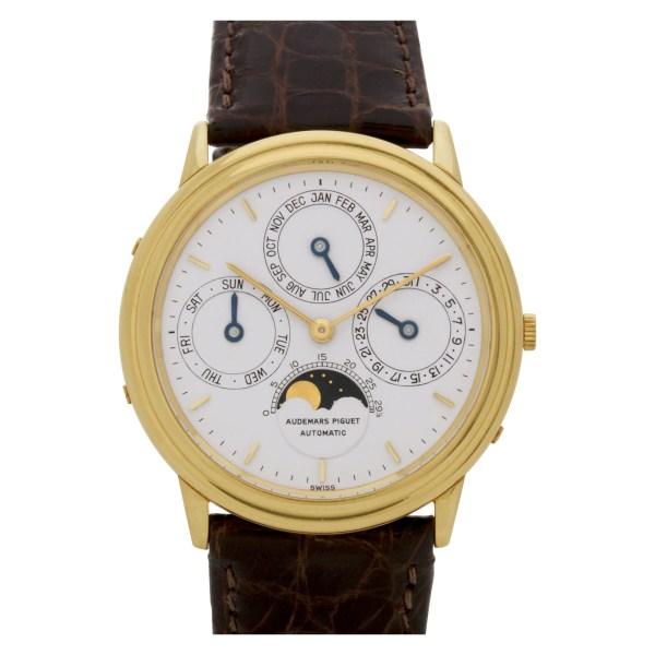 Audemars Piguet Perpetual Calendar B40364 18k 36mm auto watch
