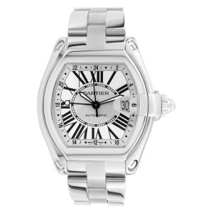 Cartier Roadster W62032X6 stainless steel 41mm auto watch