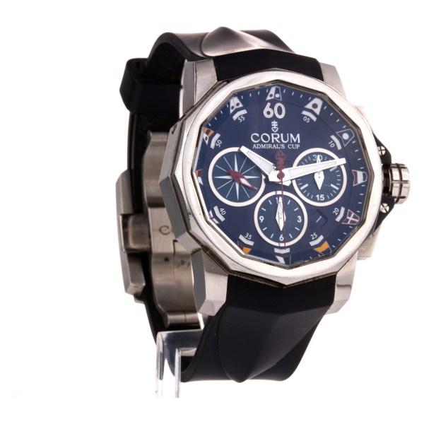 Corum Admirals Cup 01.0007 stainless steel 44mm auto watch