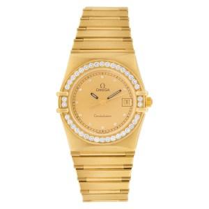 Omega Constellation 18k 26mm Quartz watch