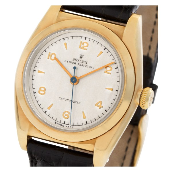 Rolex Oyster Perpetual 3131 14k 30mm auto watch