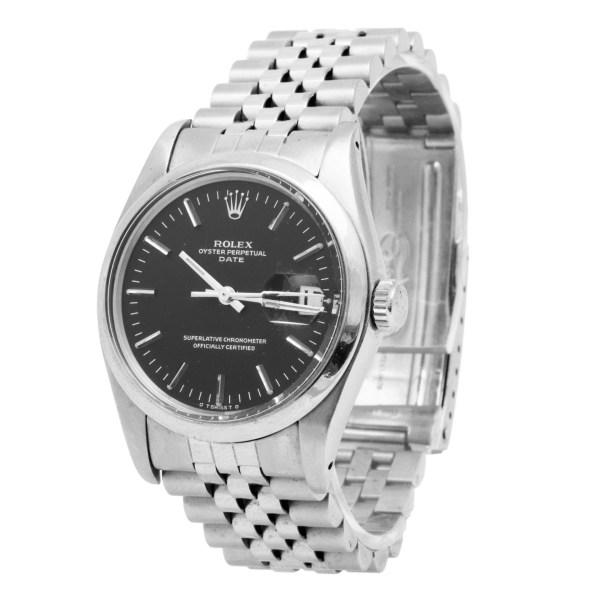 Rolex Date 1500 stainless steel 35mm auto watch