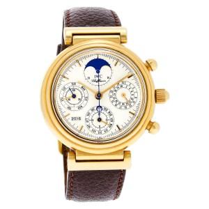 IWC Da Vinci IW3750 18k 38.5mm auto watch
