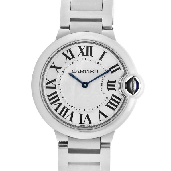 Cartier Ballon Bleu W69011Z4 stainless steel 36.5mm Quartz watch