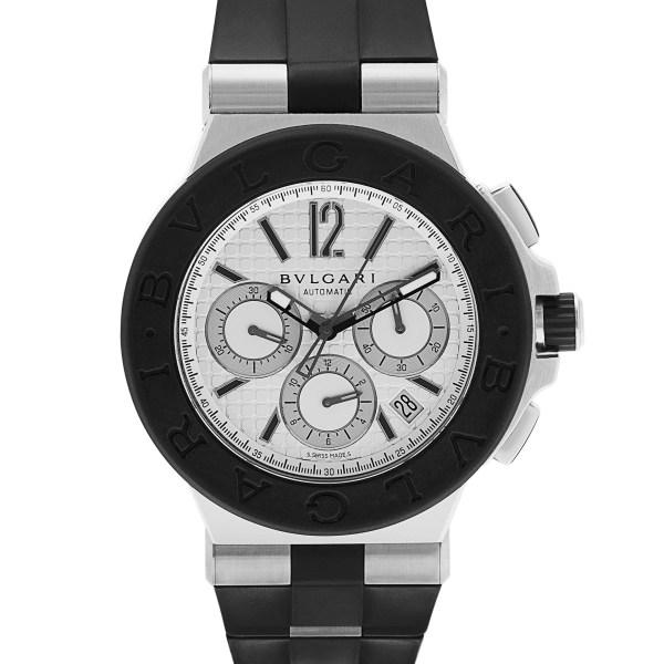 Bvlgari Diagono DG 42 SV CH stainless steel mm auto watch