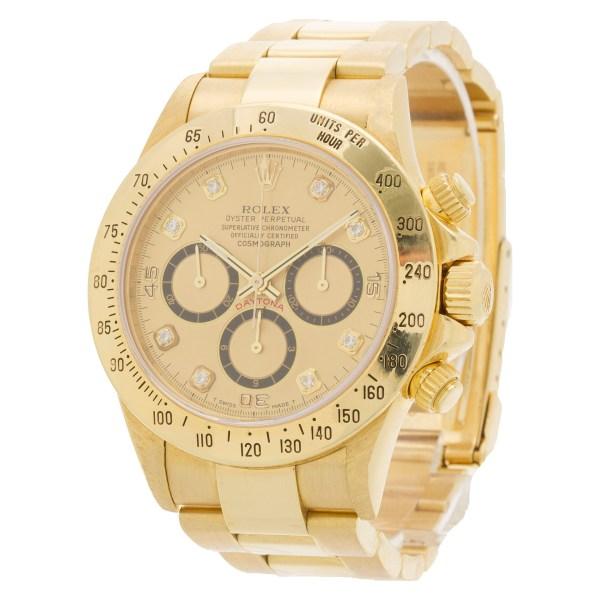 Rolex Daytona 16528 18k 40mm auto watch