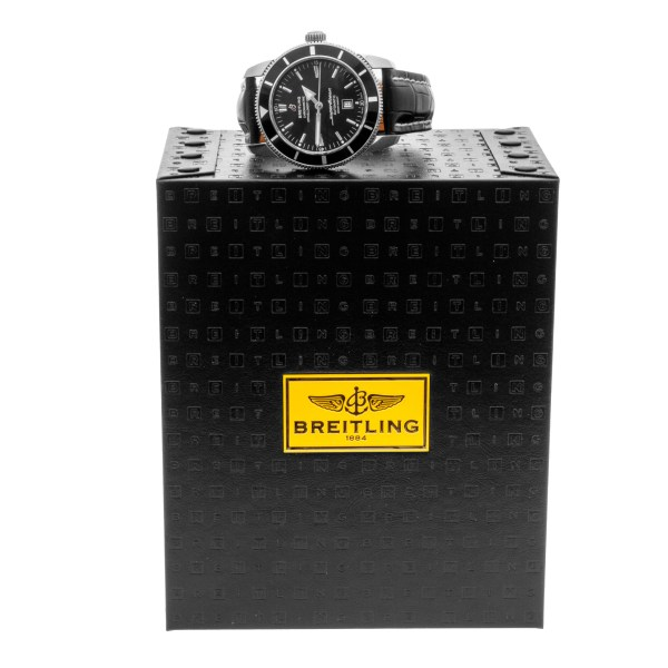 Breitling Super Ocean a17320 stainless steel 46mm auto watch