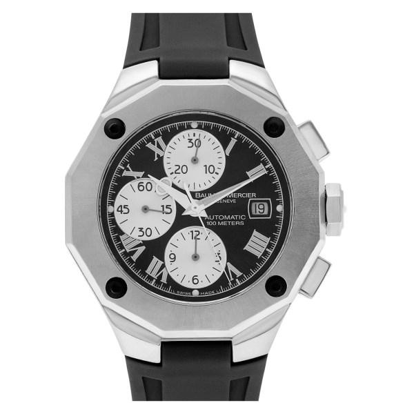 Baume & Mercier Riviera MOAO8594 stainless steel 43mm auto watch