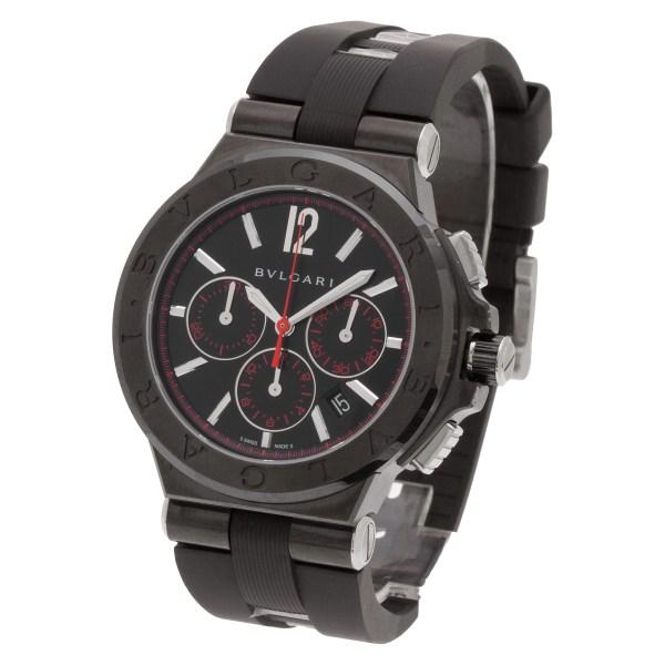 Bvlgari Diagono DG 42 SCCH stainless steel 42mm auto watch