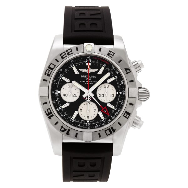 Breitling Chronomat 44 GMT AB0420B9/BB56-152S stainless steel 44mm auto watch