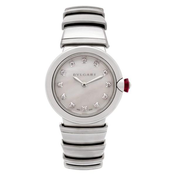 Bvlgari Lucea lu28s stainless steel 28mm Quartz watch