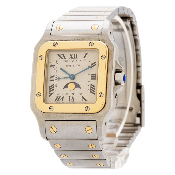 Cartier Santos 119901 18k & steel 29mm Quartz watch