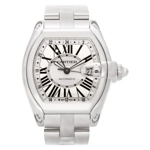 Cartier Roadster W62032X6 stainless steel 40mm auto watch