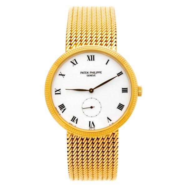 Patek Philippe Calatrava 3919/005 18k 33.5mm Manual watch