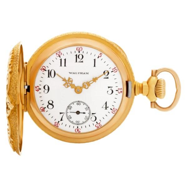 Waltham pocket watch 14k 35mm Manual watch