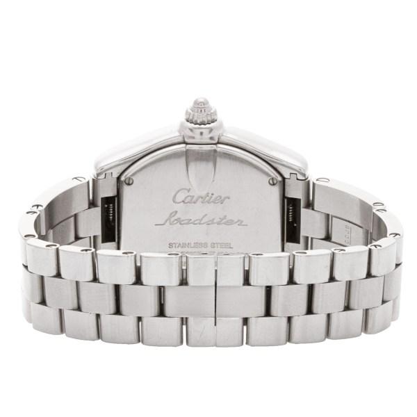 Cartier Roadster W62017V3 stainless steel 30mm Quartz watch
