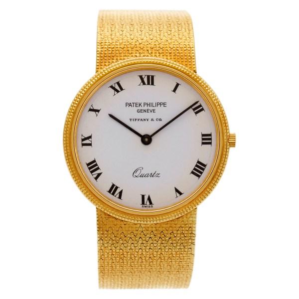 Patek Philippe Calatrava 3744/1 18k 33mm Quartz watch