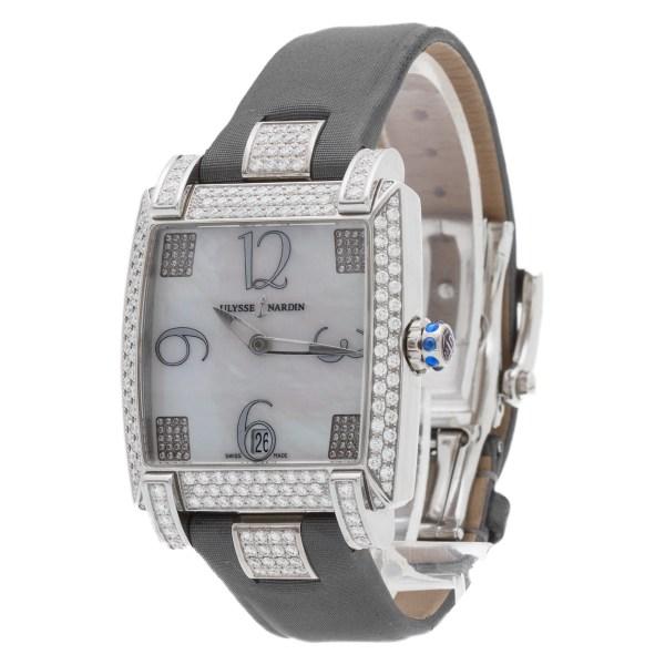 Ulysse Nardin Caprice 133-91 stainless steel 34mm auto watch