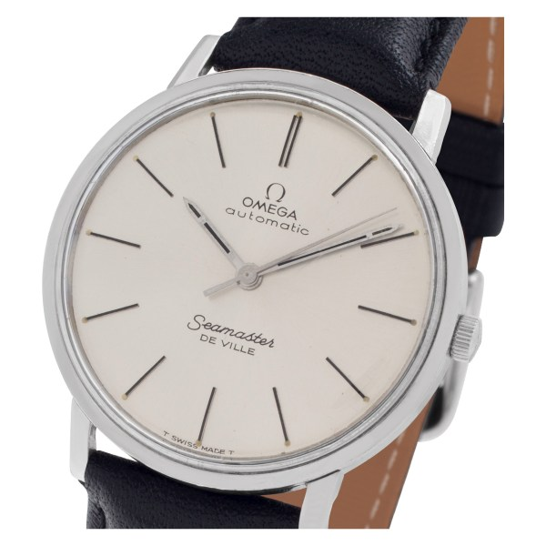 Omega Seamaster xxx Stainless Steel Silver dial mm Automatic watch