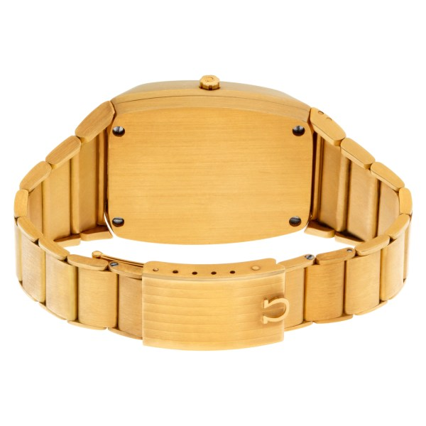 Omega N/A F8192 18k Gold dial mm Quartz watch