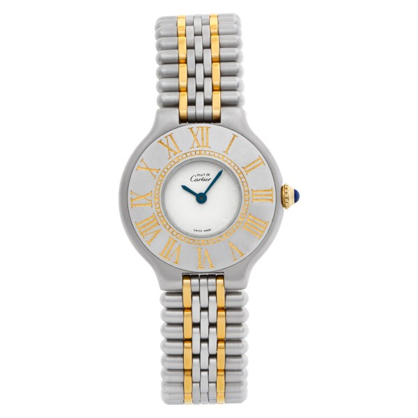 Cartier Must 21 A00382 stainless steel 28mm Quartz watch